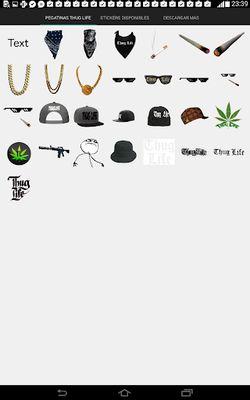 Thug Life Photo Stickers screenshot apk 7