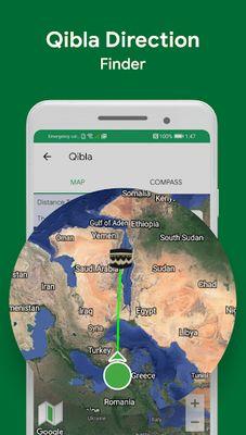 Muslim Image 6: Prayer Times, Quran, Qibla, Dhikr