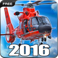 Helicopter Simulator 2016 Free Simgesi
