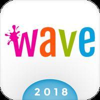 Ícone do Wave Teclado Animado + Emoji
