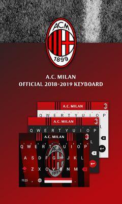 Image 5 of AC Milan Official Keyboard