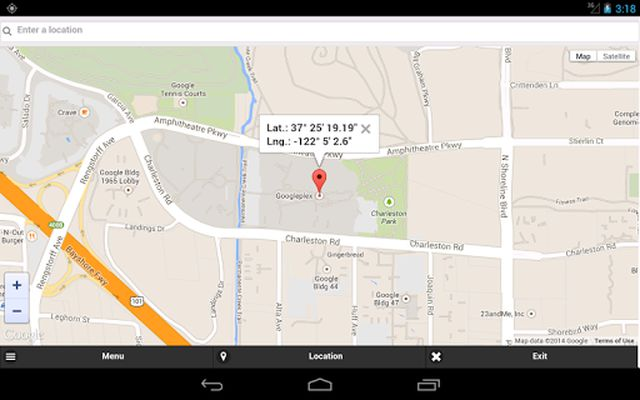 Image from GPS Coordinates Finder