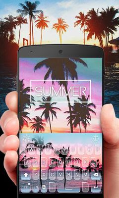 Picture of Summer GO Keyboard Theme