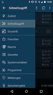 Screenshot 7 of HomeDroid - HomeMatic Remote