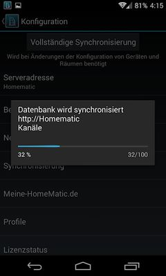 Image of HomeDroid - HomeMatic Remote