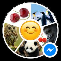Sticker Bliss for Messenger icon