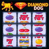 Ícone do Diamond Dog Cherry Master Slot