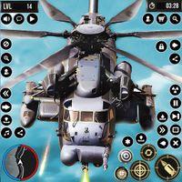 Army Gunship Helicopter Games Simulator Battle War icon