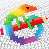 Ícone do Desenhos para colorir do Pixel