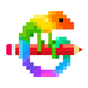Desenhos para colorir do Pixel