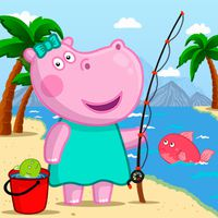 Grappige Kids Fishing Games icon