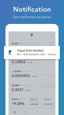 Image 3 of CoinAlarm and Widget - For Bitcoin, Ethereum