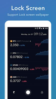 Image 2 of CoinAlarm and Widget - For Bitcoin, Ethereum