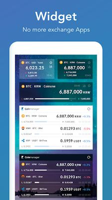 Image 1 of CoinAlarm and Widget - For Bitcoin, Ethereum