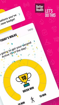 Image 3 of One You Active 10 Walking Tracker