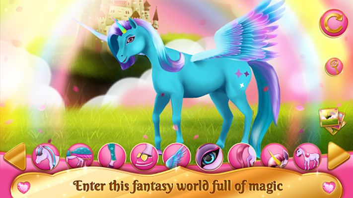 Image 1 of Horse Dress Up Games