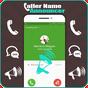 Anunciante e locutor de chamadas recebidos