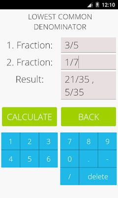Image 1 of Math Fractions Pro