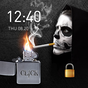 2018 Skull Lighter Lock Screen - Click to Unlock
