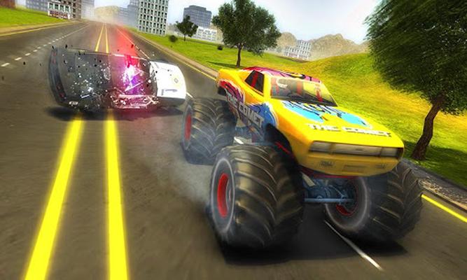 Monster Auto Spiele