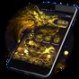 D'or Dragon Thème & Fermer à clé Écran  APK