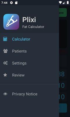 Plixi Image 10 - Fat Calculator