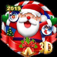 APK-иконка 3D Веселая рождественская тема