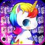 Tema de teclado Galaxy Unicorn