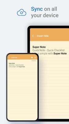 SuperNote Screenshot 3 - Notepad Notes