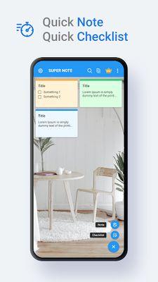 SuperNote Screenshot 1 - Notepad Notes