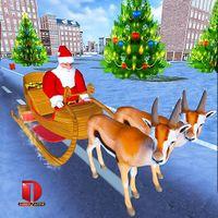 Christmas Santa Rush Delivery- Gift Game icon