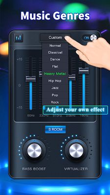 Image 1 of Equalizer: Bass Boost, Volume
