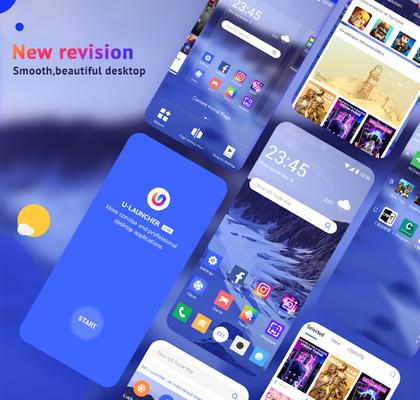 Screenshot 21 of U Launcher Lite - FREE Live Cool Themes, Hide Apps