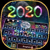 Ícone do apk Happy New Year 2018 Keyboard Theme