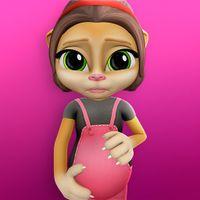 Zwangere Pratende Kat Emma icon