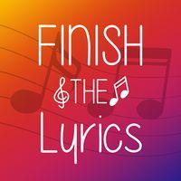 Ikona Finish The Lyrics - Free Music Quiz App