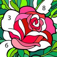 Ícone do Livro para colorir com números, páginas gratuitas