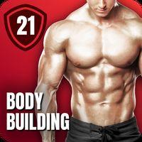 Icono de Entrenamiento en casa para hombres - Musculación
