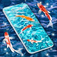 Koi Fish HD Live Wallpaper icon