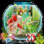 Tema de peixes 3D Aquarium Koi  APK