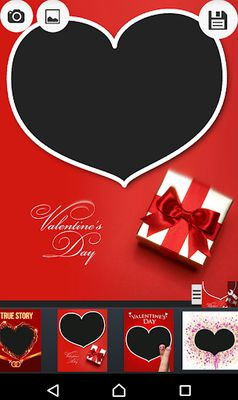 Image 4 of Valentine picture frames