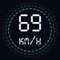 Иконка GPS-спидометр, Измеритель расстояния