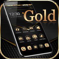 Black Gold Theme Wallpaper icon