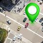 GPS satélite rota mapa direção