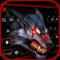 Bloody Metal Scary Wolf Keyboard Theme