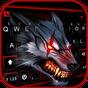 Novo tema de teclado Bloody Metal Scary Wolf