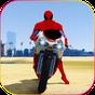 Superhero Tricky bike race (kids games) 1.1