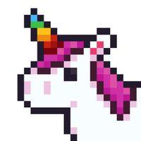 Ícone do UNICORN - Jogos de colorir