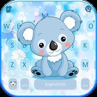 Ícone do Novo tema de teclado Cartoon Koala