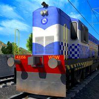 Indian Police Train Simulator icon